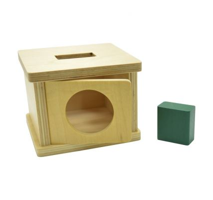 KIO026 Imbucare Box with Rectangular Prism