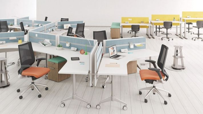 Open Plan Systems & Workstations - OES Office Furniture