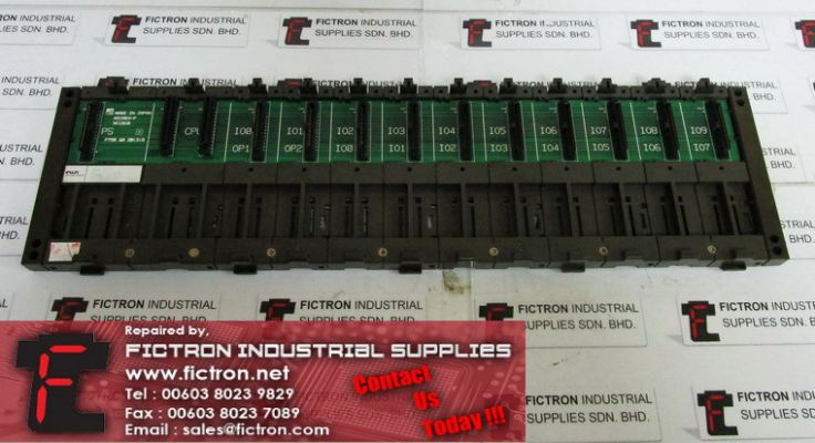NC1B10 MICREX-F FUJI ELECTRIC PLC Base Board Supply Repair Malaysia Singapore Indonesia USA Thailand