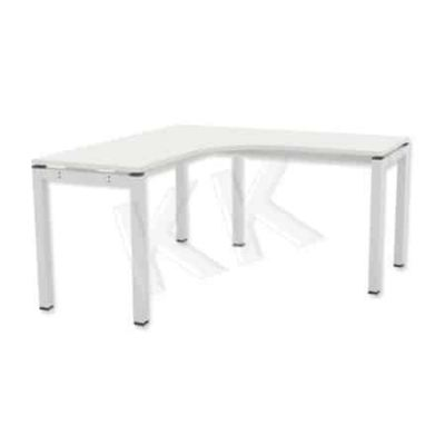 L-Shape Standard Table with Metal Leg II