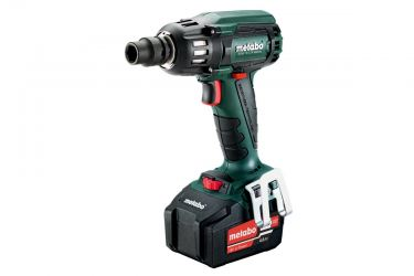"METABO CORDLESS IMPACT WRENCH WITH BRUSHLESS MOTOR, 2150 RPM, 400NM TORQUE, 1/2"" RETAINER"