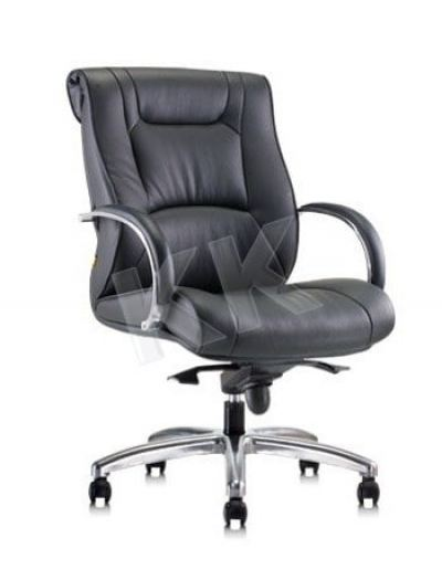 KESS (M) Executive Leather Medium Back Chair