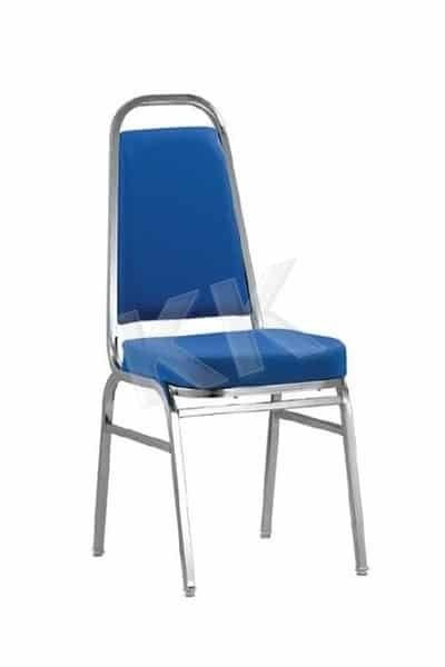 Banquet Chair with Chrome Legs