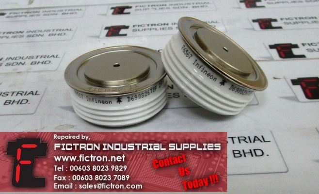 D690S26TOF INFINEON Thyristor Module Supply Malaysia Singapore Indonesia USA Thailand