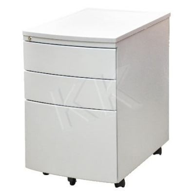 2 Drawer 1 Filing Mobile Steel Pedestal