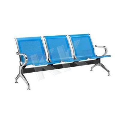 3 Seater Metal Link Chair