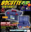 RINGSTAR TACKLE TOOL BOX - DOCUTTE D-6000 RING STAR ZEST BRAND