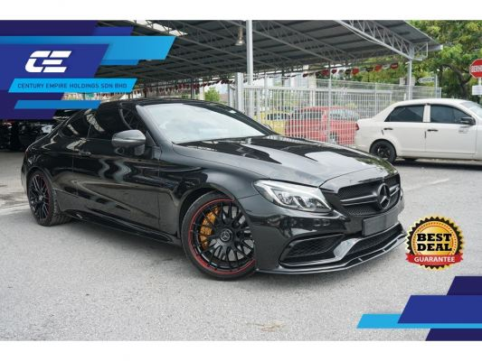 MERCEDES BENZ C63S AMG EDITION 1 2016 UNREG