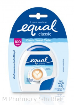 Equal Sweeteners 100's