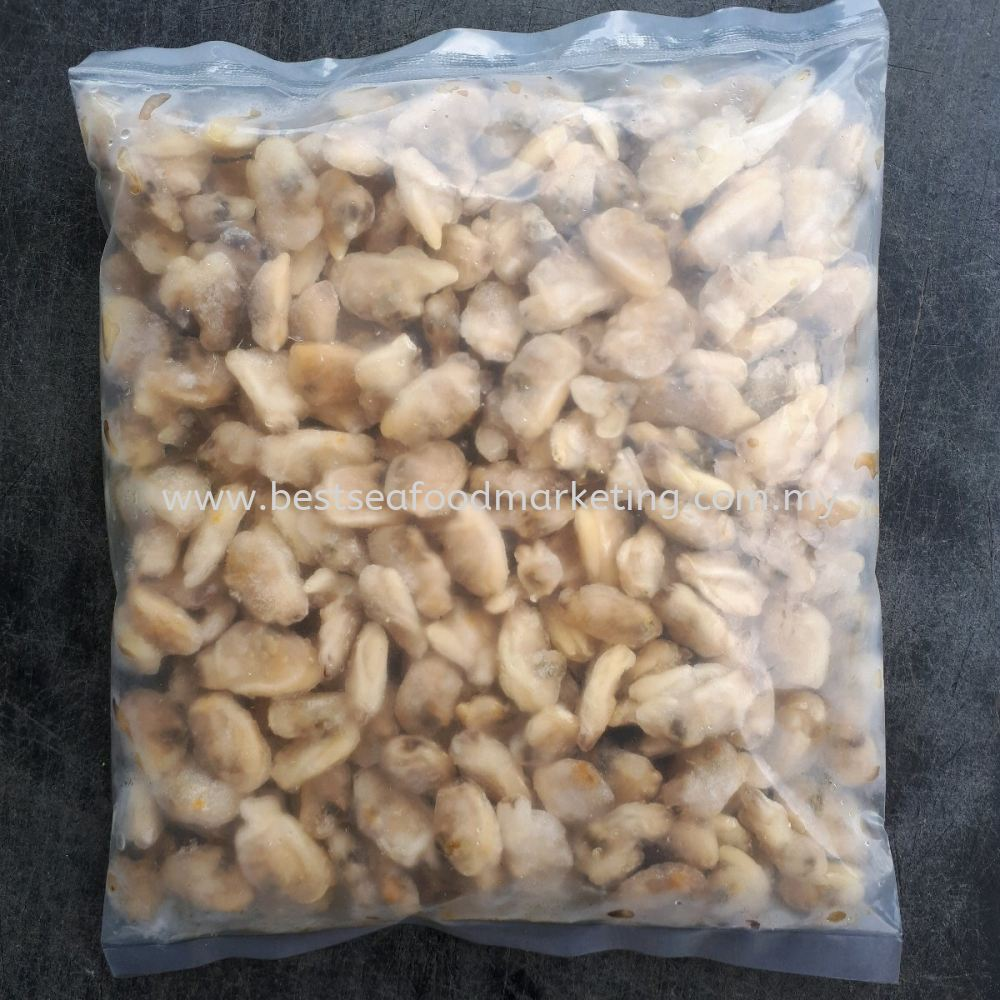 Asari Meat (Short Necked Clam Meat) / 啦啦肉 / Isi Lala (Size 700-900)(sold per pack)