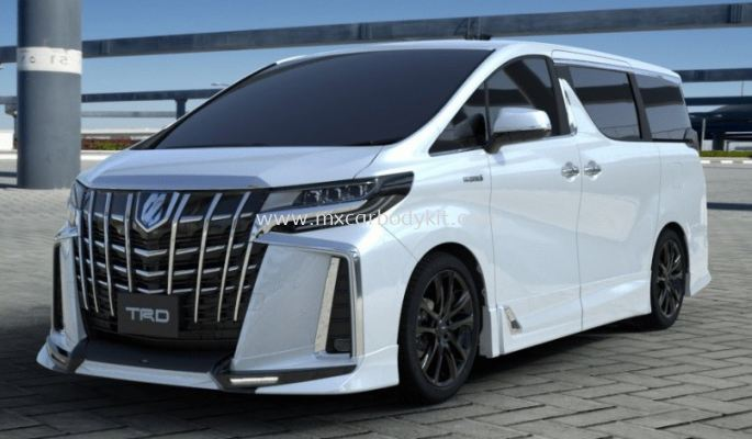 TOYOTA ALPHARD 30 2018 TRD BODYKIT FOR AERO BODY