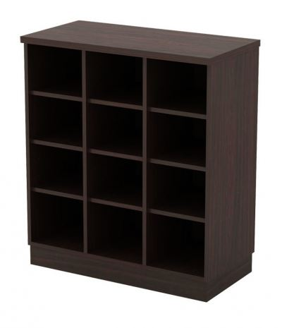 Q-YP9 Pigeon Hole Low Cabinet 800 x 400 x 910mm