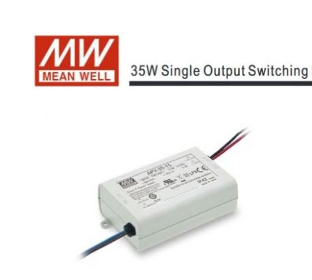 MEANWELL APV-35W SINGLE OUTPUT SWITCHING POWER SUPPLY