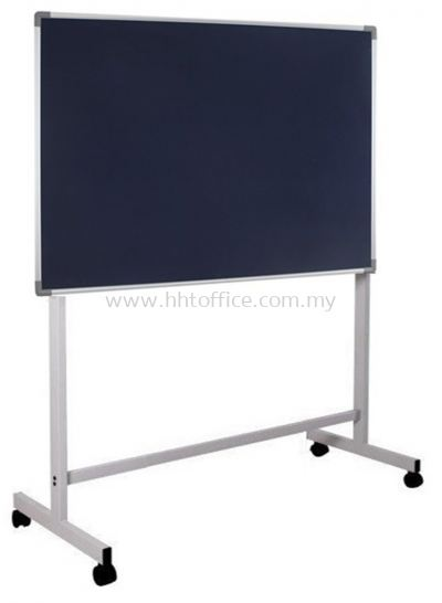 Velvet Notice Board with Mobile Stand
