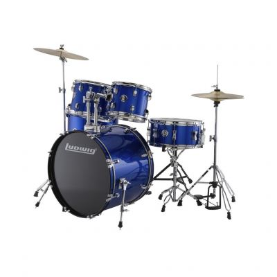 Ludwig LC17519DIR Accent Drive 5-Piece Drums