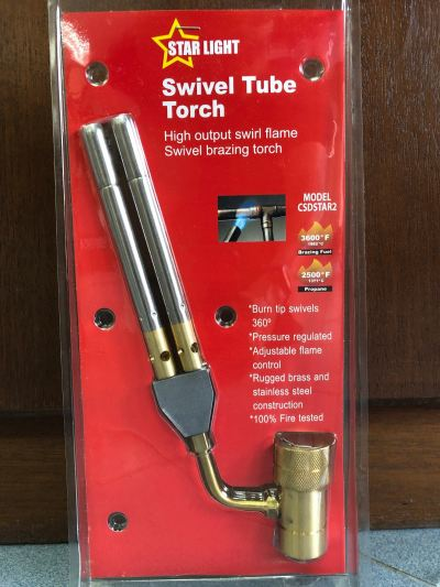 Swivel Tube Torch Double Tip