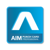 AIM PUNCH CARD PRO ATTENDANCE SOFTWARE PAYROLL SOFTWARE