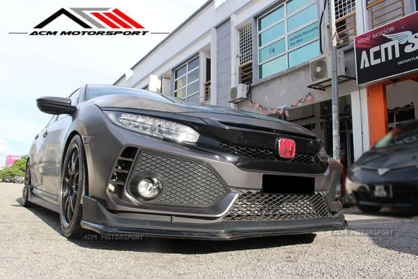 Honda Civic FC TYPE R Varis add on Carbon Lip