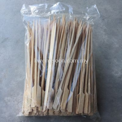 18cm 20cm Bamboo Fruit Toothpick Lidi Oden Lidi
