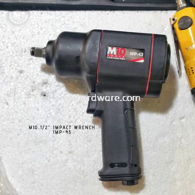 "M10 1/2"" DR Light Weight Impact Wrench"