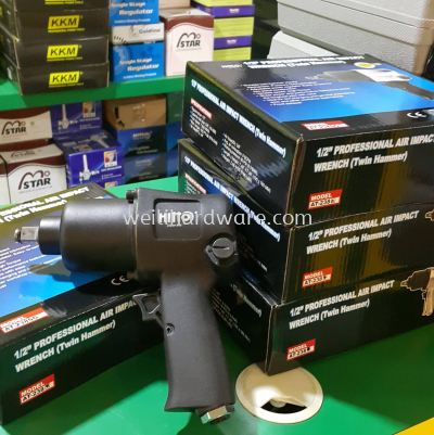 """HT-238 1/2"""" Air Impact Wrench Twin Hammer"""