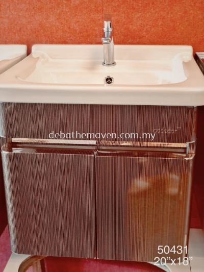 BASIN CABINET, BASIN CABINET with MIRROR SET