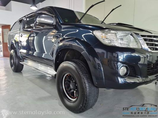 Toyota Hilux completely protected with STE Coating