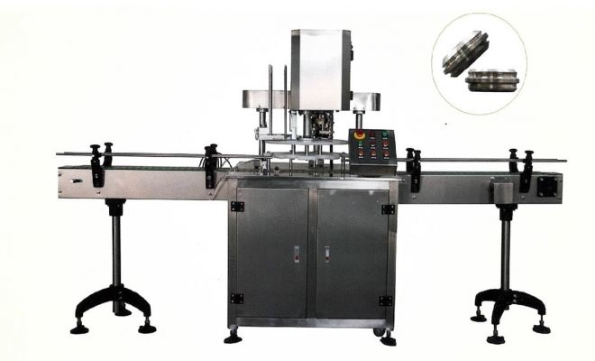Automatic can seamer machine