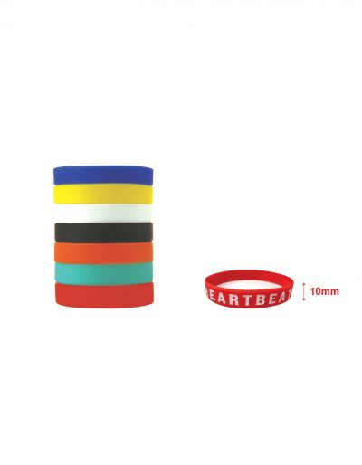 Ready made Silicone Wristband (10mm)