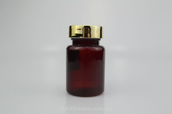 90ml Pharmaceutical Tablet / Capsule Bottles : 7638