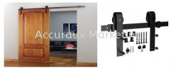 A01#Classic Sliding Roller Set With 2.5m Track Sliding Door System 02. ARCHITECTURAL SLIDE AND FOLD