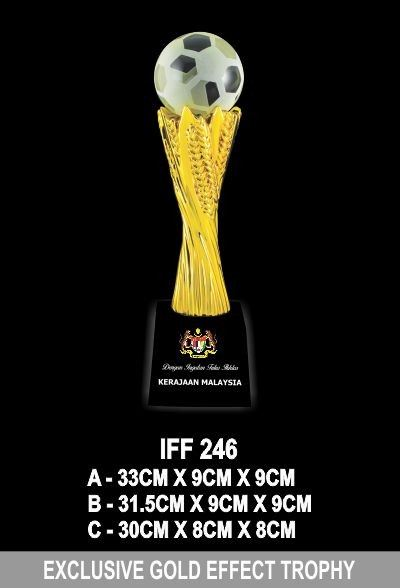 IFF 246 EXCLUSIVE GOLD EFFECT TROPHY