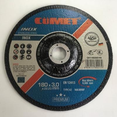 CA1230200125 (125 x 6 x 22.23 inox grinding wheel t27- HPP)