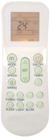 FW10C9K-2A1V FUJIAIRE AIR CONDITIONING REMOTE CONTROL FUJIAIRE AIR CONDITIONING REMOTE CONTROL