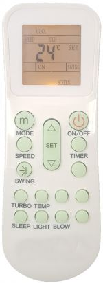 FW20C9K-2A1V FUJIAIRE AIR CONDITIONING REMOTE CONTROL
