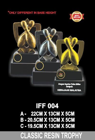 IFF 004 CLASSIC RESIN TROPHY