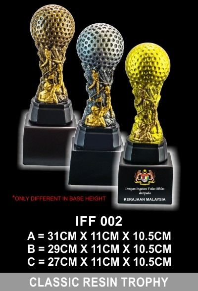 IFF 002 CLASSIC RESIN TROPHY