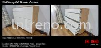Wall hanging full drawer cabinet Dressing Table