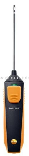 Testo thermometer with smartphone operation 905i Testo Measurement Solution