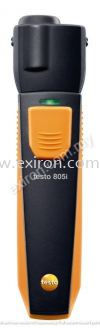 Testo infrared thermometer with smartphone operation 805i Testo Measurement Solution