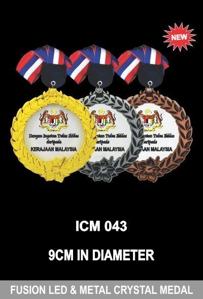 ICM 043 FUSION LED & METAL CRYSTAL MEADL