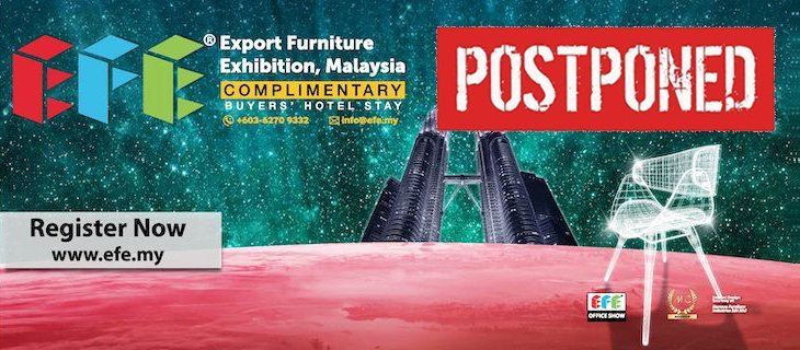 Export Furniture Exhibition Malaysia (EFE 2020) March 2020