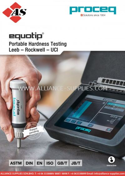 PROCEQ Equotip 550 Portable Rockwell