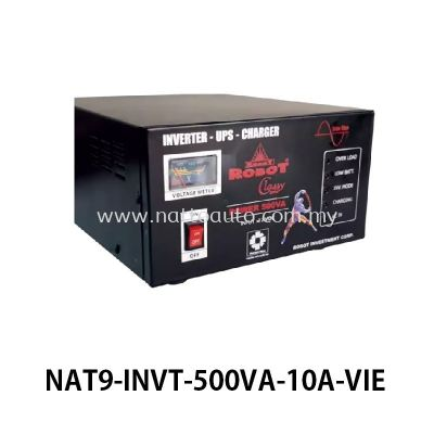 DC-AC INVERTER & BATTERY CHARGER