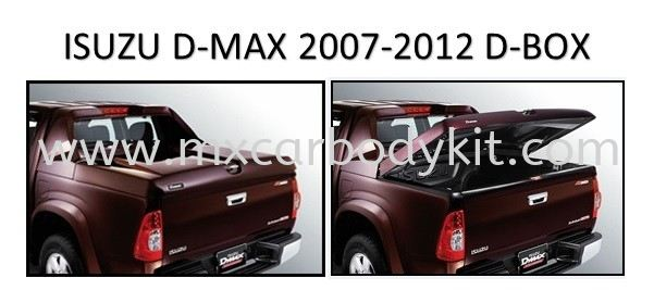 ISUZU D-MAX 2007 - 2012 D-BOX WITH LOCK D-MAX 2007 - 2012  ISUZU
