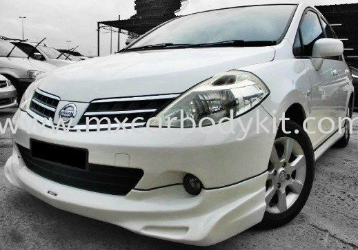 NISSAN LATIO HATCHBACK 2012 (FACELIFT) IMPUL BODY KIT + SPOILER LATIO HATCHBACK 2012 (FACELIFT) NISSAN