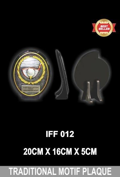 IFF 012 TRADITIONAL MOTIF PLAQUE