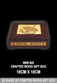 IWW 005 CRAFTED WOOD GIFT BOX
