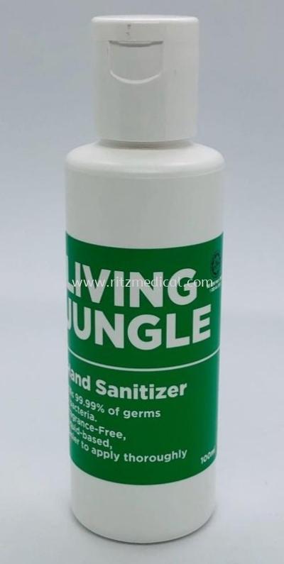 Living Jungle Hand Sanitizer gel _100ml