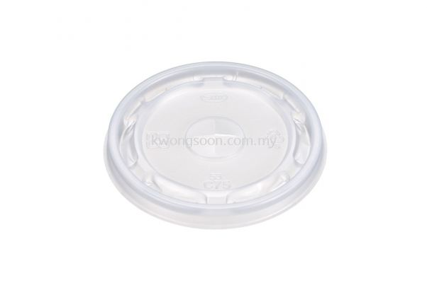 Cup Lid Flat Dome High Top Cup Lid